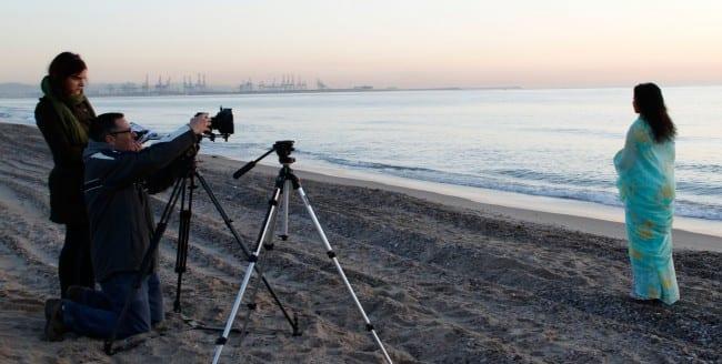 coria y el mar Rodaje valencia-2