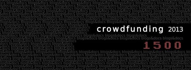Crowdfunding Blogs&Docs