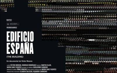 Banco Santander censura «Edificio España» de Víctor Moreno