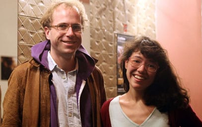 Libbie D. Cohn and J.P. Sniadecki with 'Renmin Gongyuan (People's Park)' at Viennale 2012