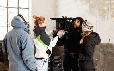Acto de presentación de Becas DOCMA en DocumentaMadrid