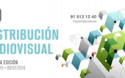 Abierta la inscripción a la 2ª Edición del Master de Distribución Audiovisual de la ECAM