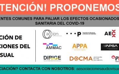 Creación de la Agrupación de Asociaciones del Audiovisual (AAA)
