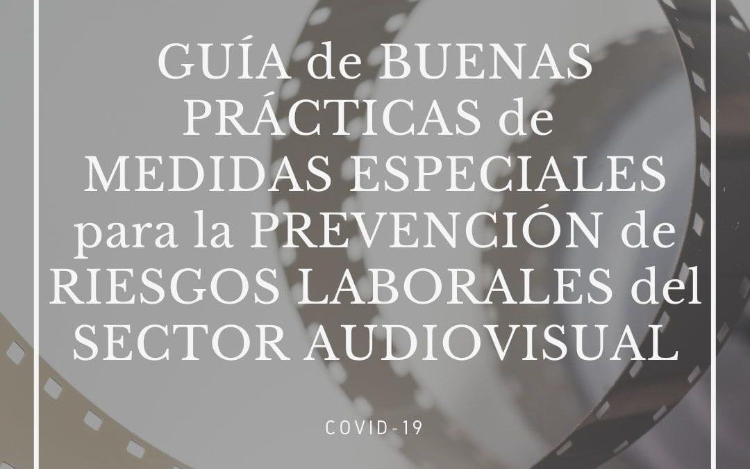 Guía de buenas prácticas para producciones audiovisuales