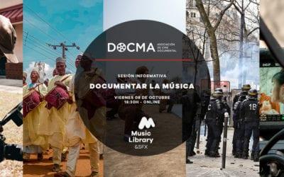 Charla «Documentar la música» de la mano de Music Library