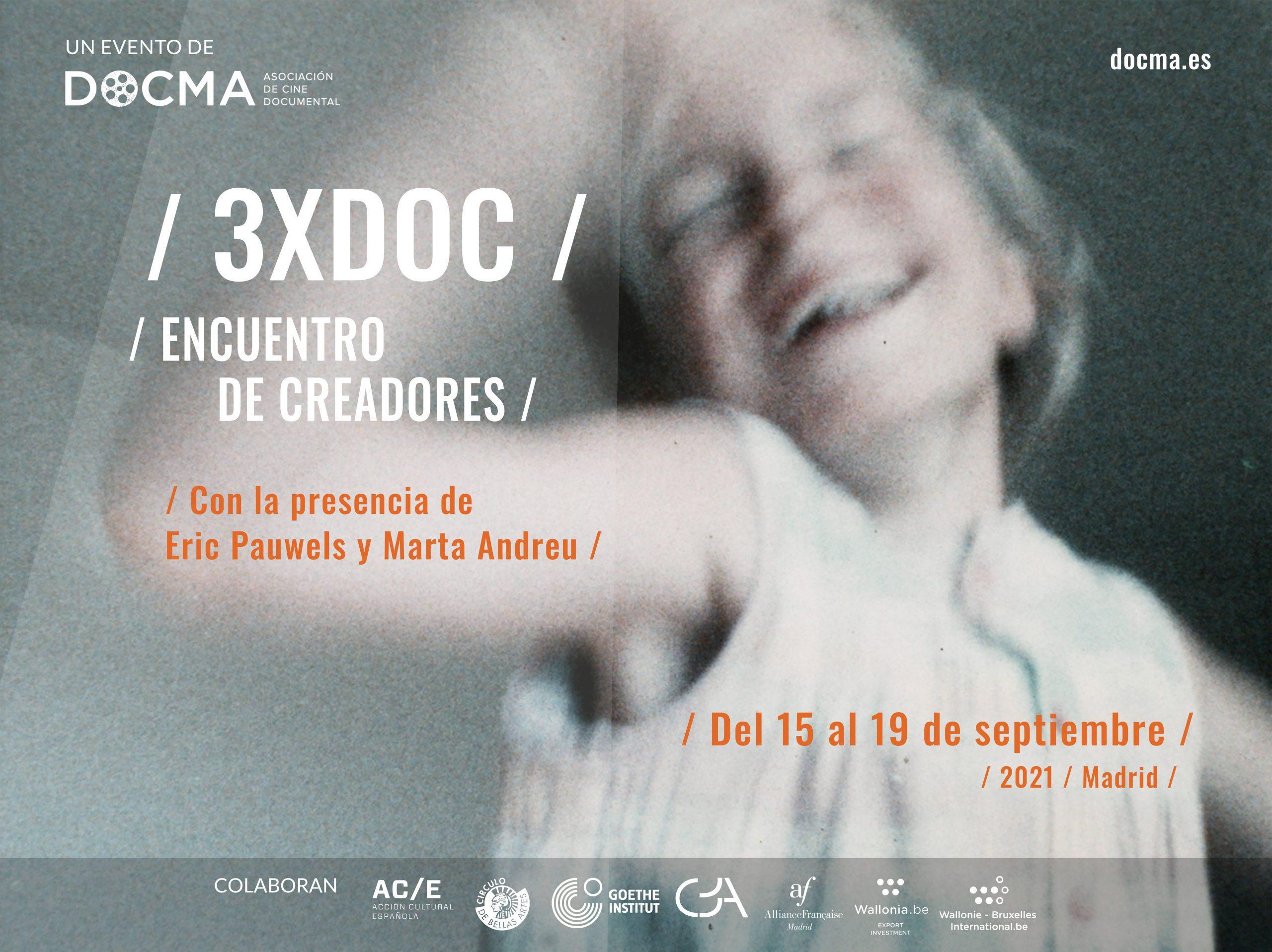DOCMA anuncia la VII edición del 3XDOC / Encuentro de creadores